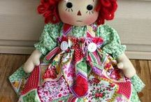 Dolls - to knit for, sew for and just to love