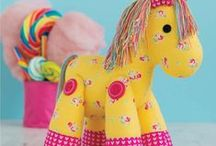 Toys - to make, sew or knit