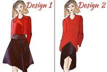 Duelling Designs: Conference Wear Design Challenge / Designs from the Duelling Designs Blog. www.duellingdesigns.com