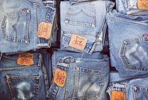 Denim / Research for the denim challenge on the Duelling Designs Blog.