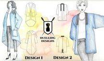 Duelling Designs: Denim Challenge / Board with images I created for the Duelling Designs Denim Design Challenge for the blog. www.duellingdesigns.com