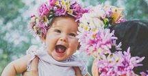 Coroncine di fiori per bebè / Che ne dici di provare a fare una coroncina di fiori per la tua principessa?
