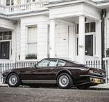 Car Porn: Sir Elton John's Aston Martin V8 Vantage Saloon. Cool ride with a cool history.