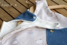 Baby sleeping bag handmade / Handmade in Italy by our Atelier Faggi... baby sleeping bags made in cotton and/or felt, jeans, etc. with appliques and other lovely details