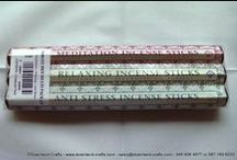 Incense Sticks / Create the perfect atmosphere for crafting or just relaxing with our wide range of incense sticks.