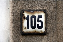 > PROJ > The House Number Project (Brussels, Belgium) / Just that! House Numbers of Brussels (Belgium) Check out my blog: http://thenumberhouseproject.wordpress.com/