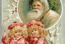 Vintage French Holiday Postcards / Joyeux Noel & Bonne Annee! Enjoy our gallery of antique Christmas postcards from France.