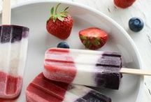 Colorfood: RED, WHITE AND BLUE FOOD