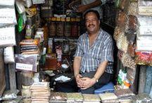 Mercados, tiendas, puestos y escaparates / Lugares para la venta de comida y otras cosas