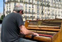Música callejera / Músicos por las calles