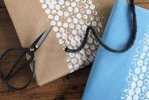 DIY | Packpapier / Geschenkverpackungen mit Packpapier, craft paper