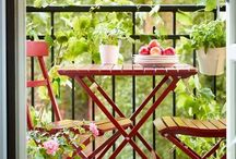Om en hade balkong / Balcony, gardening, plants, outdoors