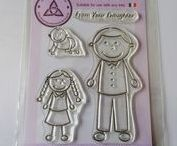 Everyday A6 Stamps / A6 everyday clear photopolymer stamp sets designed by Downland Crafts