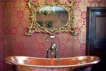 Bathroom Wallpaper Ideas / by Wallpaper Boulevard
