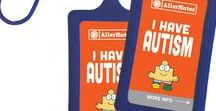 Autism Safety :) / AllerMates offers fun, stylish autism awareness bracelets and custom medical ID tags to help create awareness for autistic kids in order to help keep them safe.
