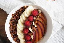 Food | Frühstück / Leckeres und Gesundes zum Frühstück zeige ich euch auf dieser Pinnwand.