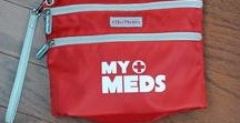 AllerMates Medicine Cases / Cases and bags to help carry those precious medicines around.
