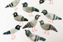 > GRAF > Bird's illustration