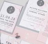 Design suite // Marble wedding stationery collection