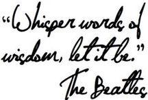 Words / by Heather Sanders