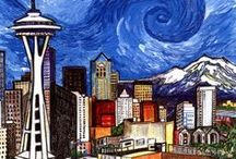 Seattle…Home Sweet Home. / Things I love about this city...and now my new home.  / by Rebecca Smith