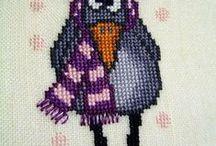 cross stitch / by Agnes Palko