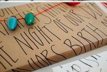 Gift Wrapping Ideas / by Dawn Geil Allison