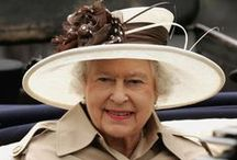 "Queen of Hats / Queen Elizabeth has a wonderful collection of hats!  She's worn more than 5000 hats since she took over as the Queen in 1953 & her hats have undergone a fashion metamorphosis over the years.  ""Shall it be a bonnet or a boater? A cloche, dunce hat, death cap, coif, snood, barboosh or pugree? Yarmulke, cockle-hat, pork-pie, tam o'shanter, billy-cock, bicorn, tricorn, bandeau, bongrace, fan-tail, night cap? Garibaldi, fez...?"" ~The Mad Hatter in Alice in Wonderland, by Lewis Carroll (1832-1898)."