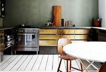 Kitchen // Dining / by Anne Ala-Seppälä
