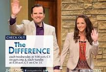 Matt & Kendal Hagee's Show / The Difference is a faith-based talk show where biblical truths and  everyday life intertwine in a fun and insightful way. On each episode Matt and Kendal discuss trends, culture, and most importantly  how faith applies to every person's life every day.   Wednesdays @ 8pm CT on www.getv.org  / by John Hagee Ministries