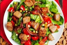 BEEF**Salads / by Charlene Murray