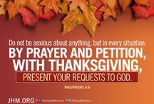 "Thanksgiving / ""Oh, give thanks to the Lord, for He is good! For His mercy endures forever."" Psalm 107:1"