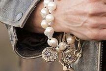 Perły / Inspiracje przy tworzeniu biżuterii z pereł naturalnych i nie tylko, pomysły