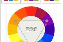 Kolorystyka / jak dobierać kolory, monochromatycznie z akcentem