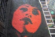 "El Mac (Miles ""El Mac"" MacGregor ) / Street Art / USA / by Bastet"