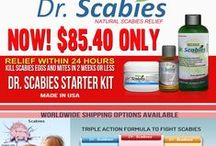 Dr. Scabies Homeopathic Natural Formula Products / Dr. Scabies is a Natural treatment! No pesticides, no side effects!