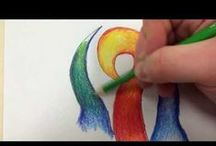 Colored Pencil Tutorials / This board links to helpful tutorials we find across the web for using your colored pencils