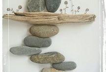 Pebble art / Kavicsokból képek