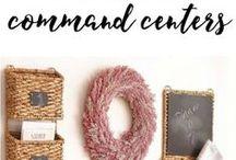 Organize the Command Center
