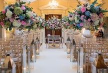 Aisles / Inspiration for your wedding aisle flowers - from our work and our favourites around the web.