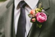 Buttonholes / Inspiration for wedding buttonholes - from our work and also our favourites from around the web!