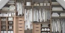 Closet space & Pantry / tárolók / tárolóhelyek a lakásban: kamrák, gardróbok, polcok -> renszervezés