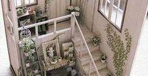 Dollhouse furnishing / babaházak berendezései