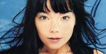 Bjork, All for me / Bjork is my MOST favorite solo Artist. Since the 'Sugarcubes', she has always been in my heart with song.