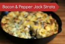 Skillet Recipes / We LOVE cast iron skillets