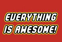 everything is awesome everything is cool / lego