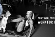 Fitness Motivation / Fitness and Healthy Lifestyle. Trying to be fit