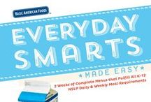 K-12 Recipes: Everyday Smarts Made Easy / Basic American Foods' potatoes and beans are the perfect fit for your kids.