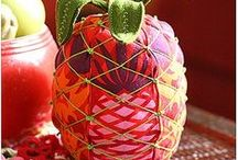 Nähen Früchte