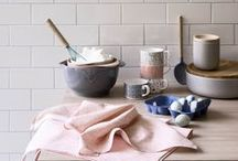 Peachy Keen / We love a retro revival, so we're peachy keen to see coral tones being paired with neutral greys to create a fresh contemporary vibe.